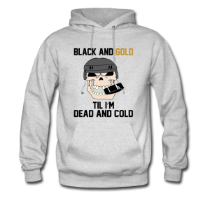 Black And Gold Hockeu