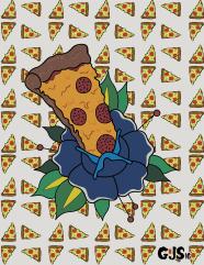 pizza-flower